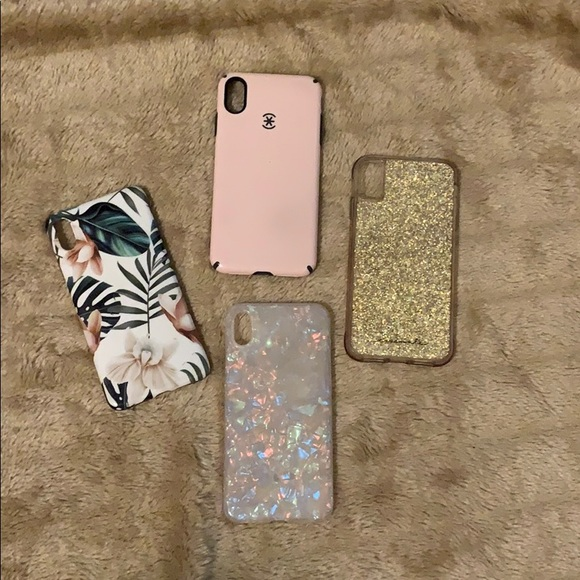 Set of 4 iPhone XS Max Phone Cases Cheap!
